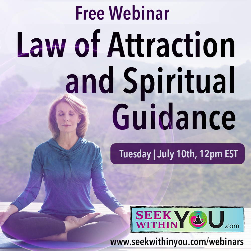 Law of Attraction and Spiritual Guidance Webinar