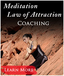 Law of attraction meditation coaching