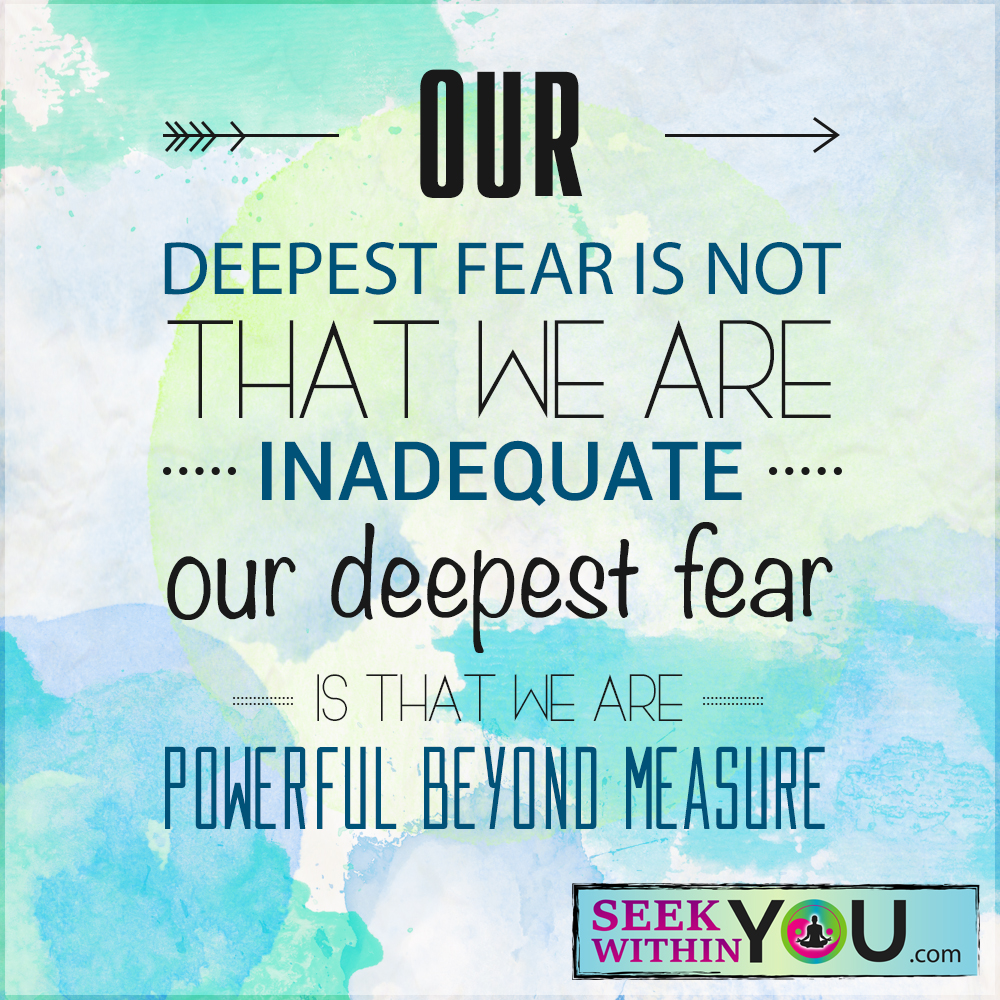 What is your Deepest Fear?