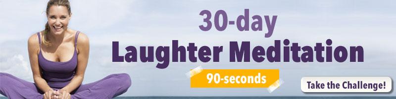 Laughter Meditation Challenge