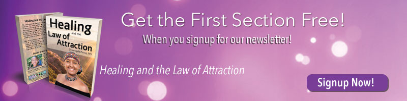 Free Copy of Healing and the Law of Attraction