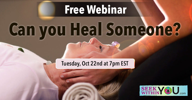 Law of Attraction Webinar - Can you heal someone
