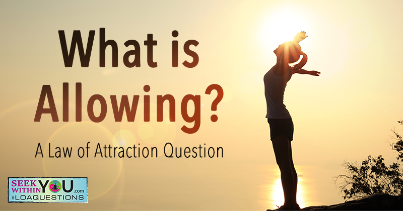 What is Allowing?