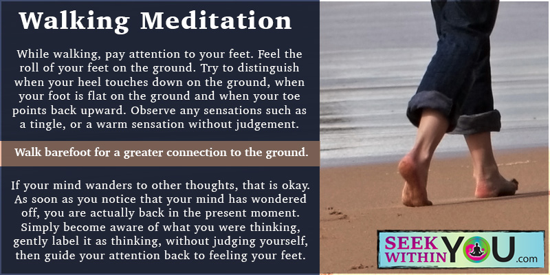 walking-meditation 6 Ways to Stay Calm During the Holidays