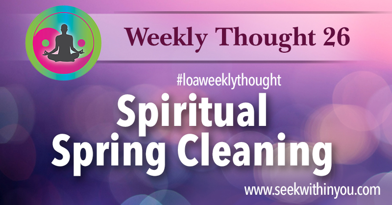 Law of Attraction Weekly Thought 26