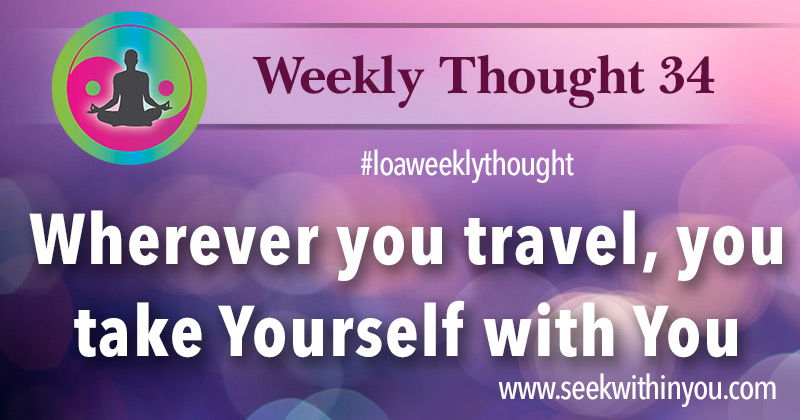Law of Attraction Weekly Thought 34