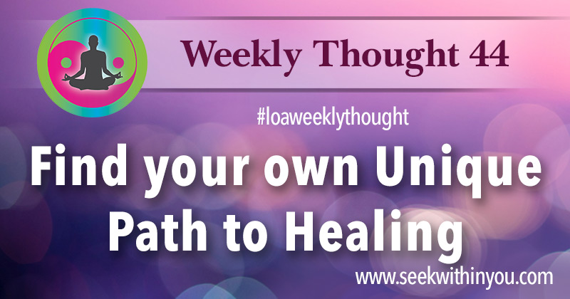 Weekly_Thought_44 Tag Law of Attraction Healing | Law of Attraction Blog