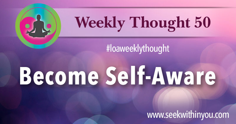 Law of Attraction Weekly Thought 50