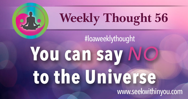 Weekly_Thought_56 Law of Attraction Blog