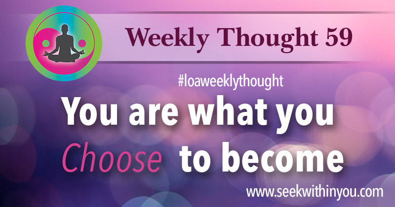 Law of Attraction Weekly Thought 59