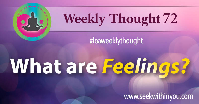 Law of Attraction Weekly Thought 72