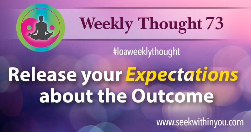 Law of Attraction Weekly Thought 73