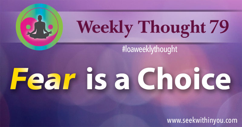 Law of Attraction Weekly Thought 79
