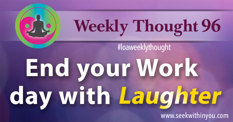 Law of Attraction Weekly Thought 96
