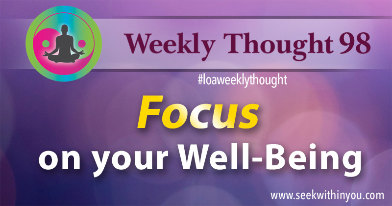 Law of Attraction Weekly Thought 98