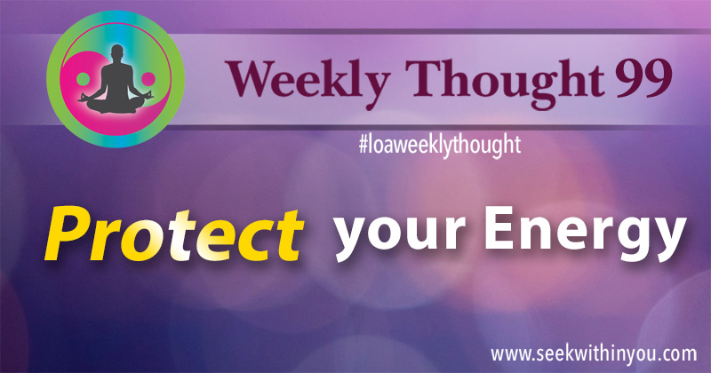 Law of Attraction Weekly Thought 99
